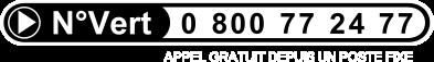 Numero vert 0800 77 24 77